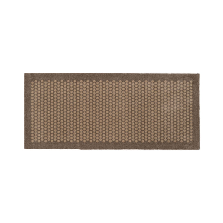 Dot doormat 67 x 150 cm from tica copenhagen in sand