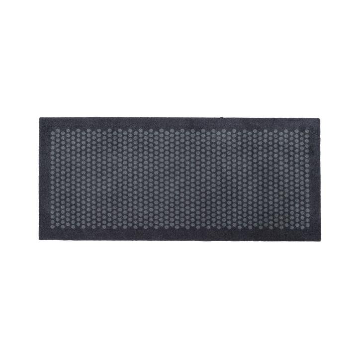 Dot doormat 67 x 150 cm from tica copenhagen in grey