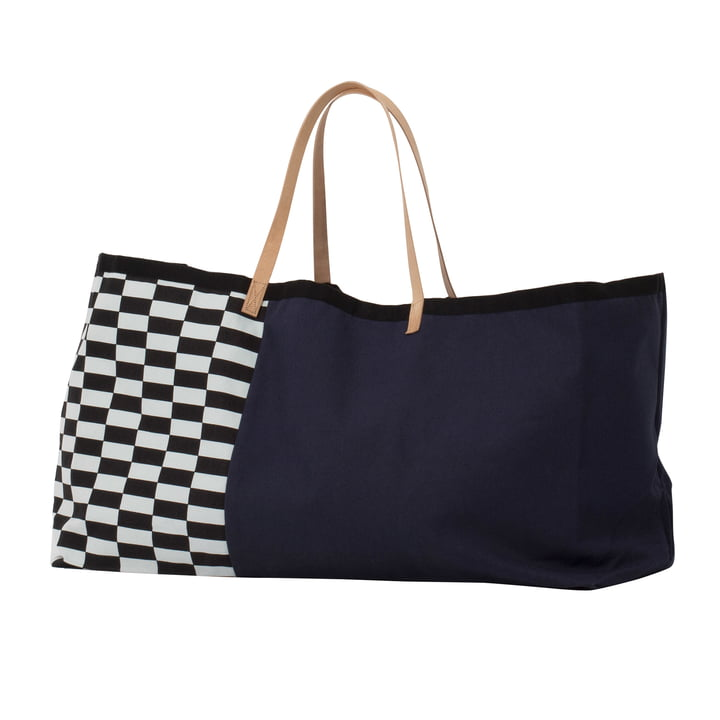 Herman Big Bag by ferm Living in dark blue