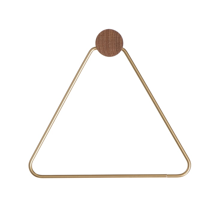 ferm Living - Toilet Paper Holder, brass