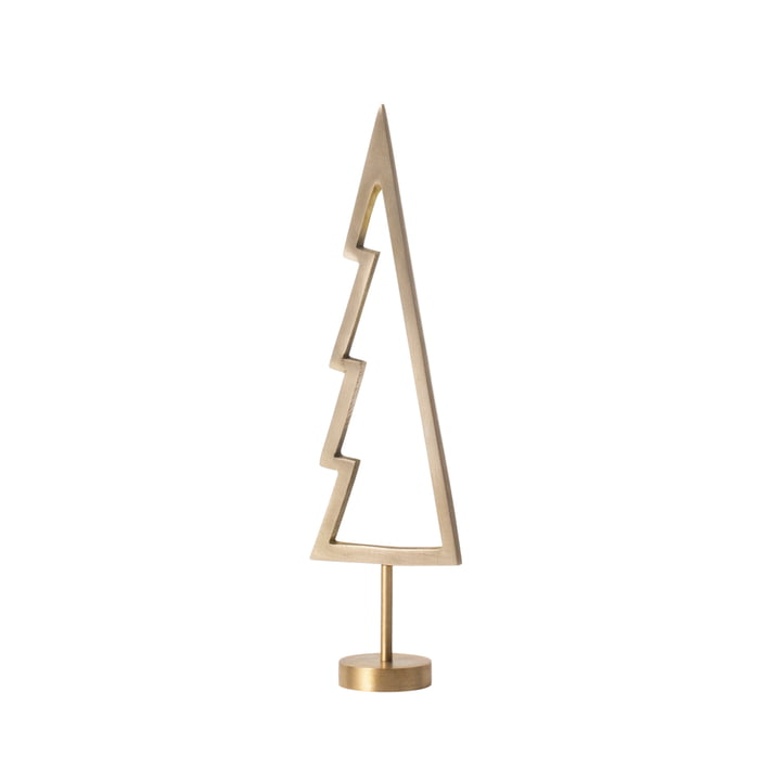 Winterland Brass Tree Outline by ferm Living