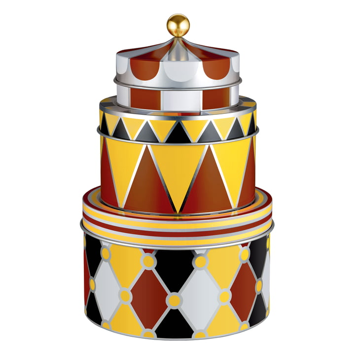 Circus All-purpose Tins (Set of 3) by Alessi