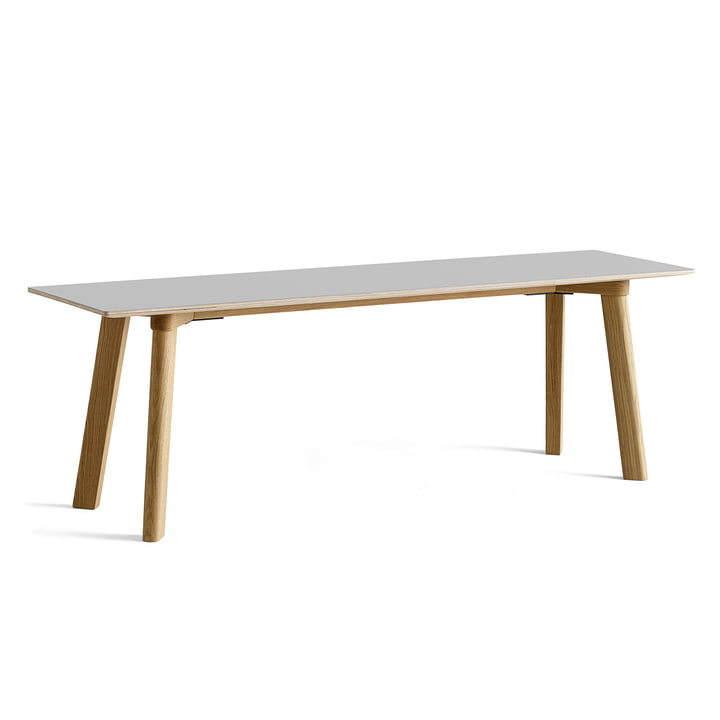 Hay - Copenhague CPH Deux 215 Bench 140 cm, lacquered oak