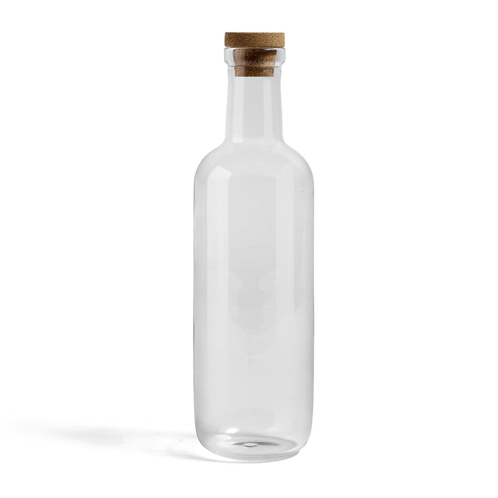 Hay - bottle, large, clear