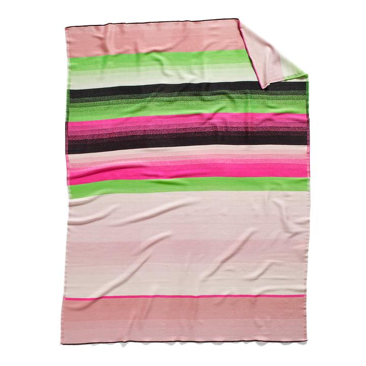 Colour Plaid woollen blanket colour: no. 4 by Hay