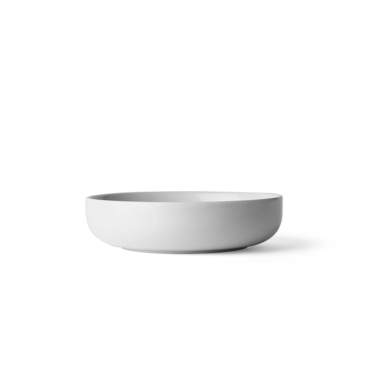 New Norm Bowl Ø 13.5 cm Low by Menu in Smoke