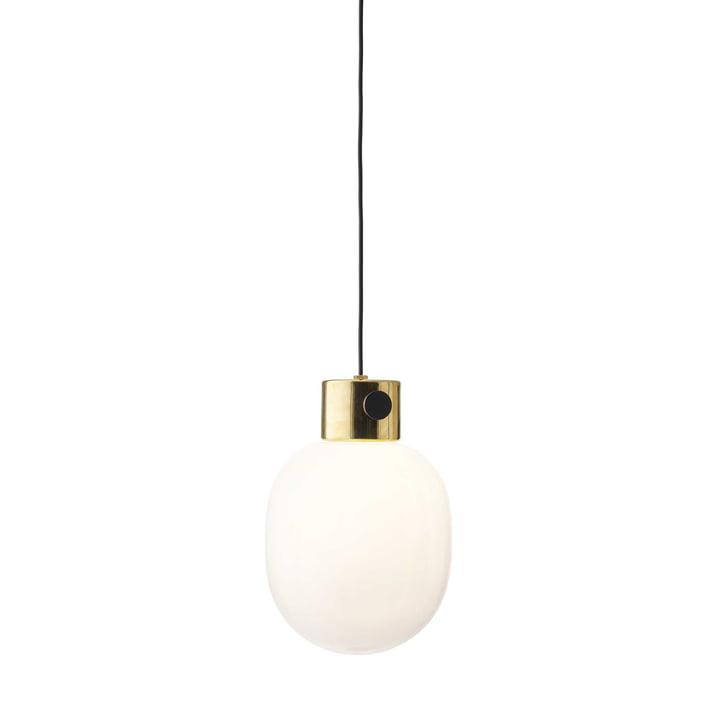 JWDA Pendant Lamp by Menu in polished brass