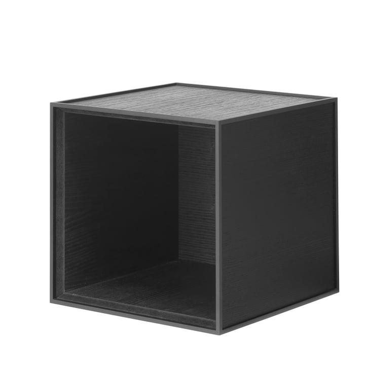 Frame wall cabinet 28 by Lassen in black
