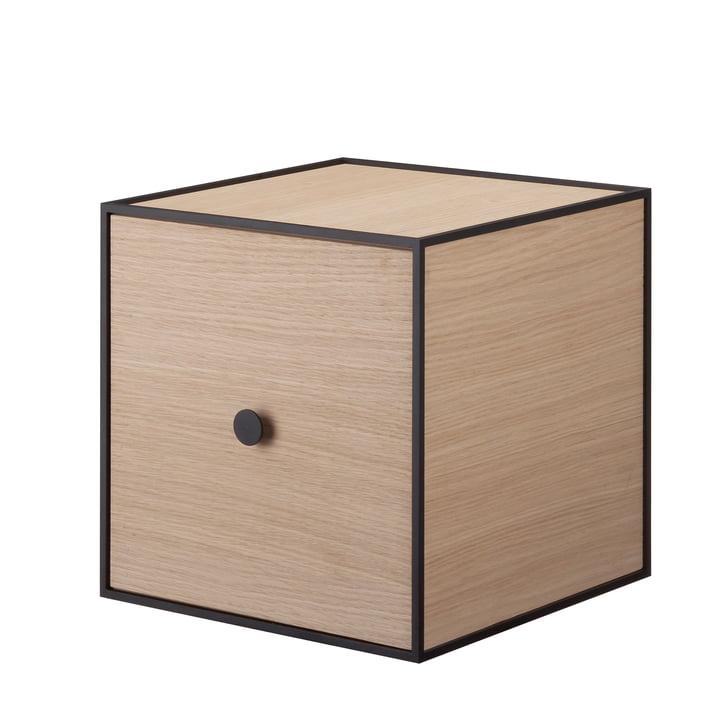 Frame wall cabinet 28 (incl. door) by Lassen in oak