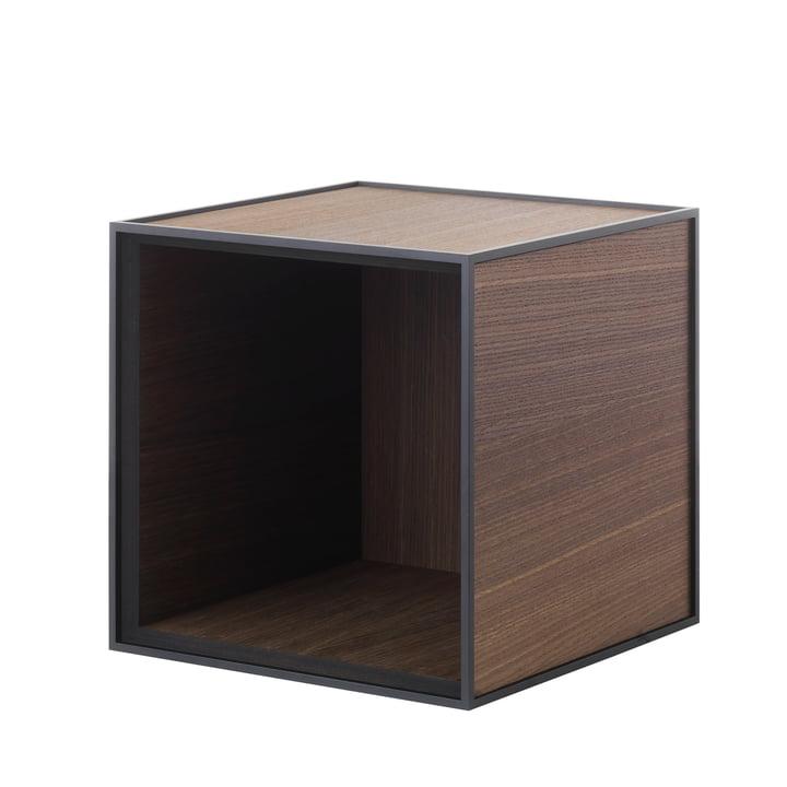 Frame wall cabinet 28 by Lassen smoked oak