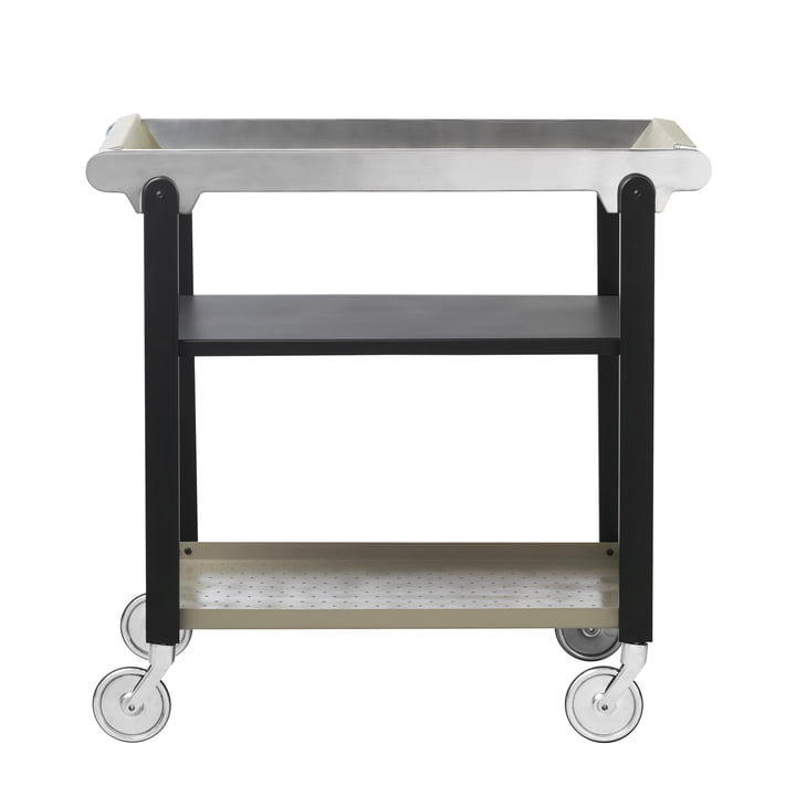 Anoon Trolley from by Lassen in Black / Mud Grey / Chrome