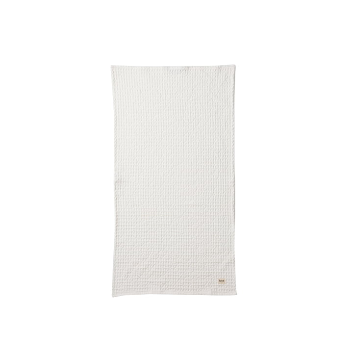 Organic Towel 100 x 50 cm in white by ferm Living