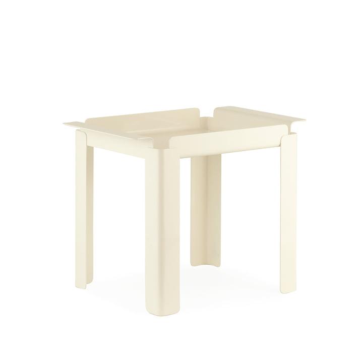Normann Copenhagen - Box table 33 x 48 cm, creme