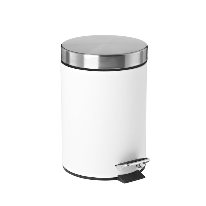 Pedal bin 3 L from Zone Denmark in white