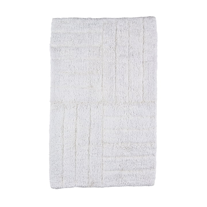 Bath Mat 80 x 50 cm by Zone Denmark in White