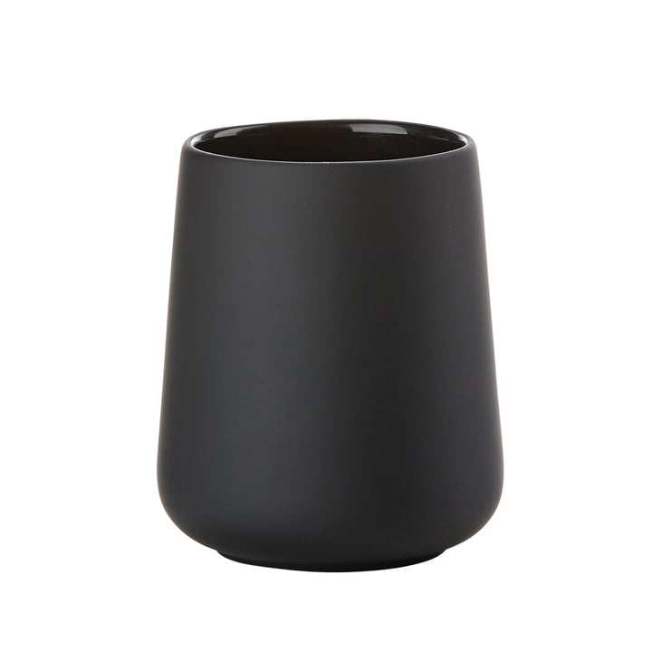 Nova One toothbrush cup from Zone Denmark in black