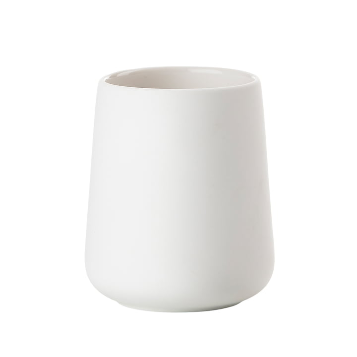 Nova One Toothbrush Holder by Zone Denmark in White
