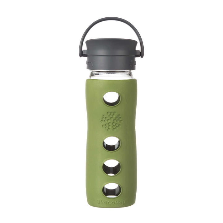 Café Collection 475 ml by Lifefactory in Sage