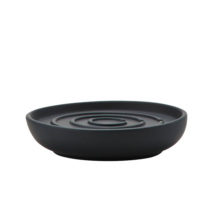 Nova Soap Dish by Zone Denmark in black