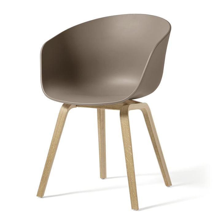 About A Chair AAC 22 by Hay in soaped oak / khaki