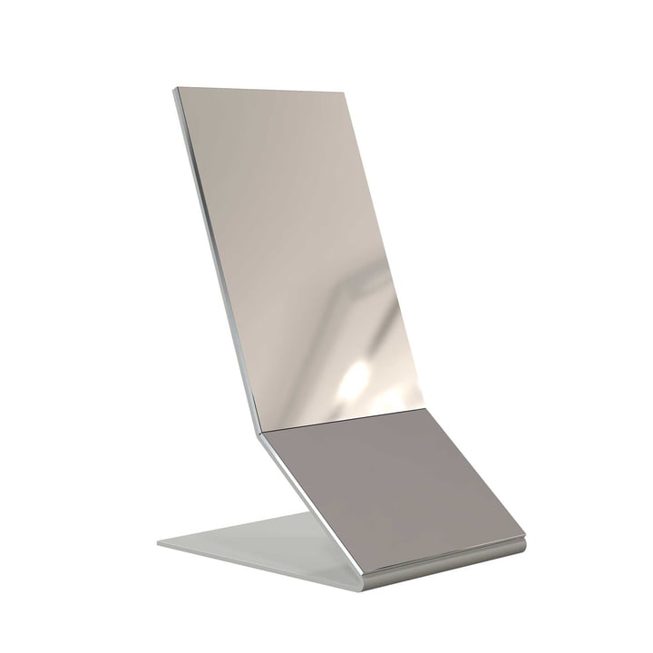 The Frost Unu Table Mirror in white