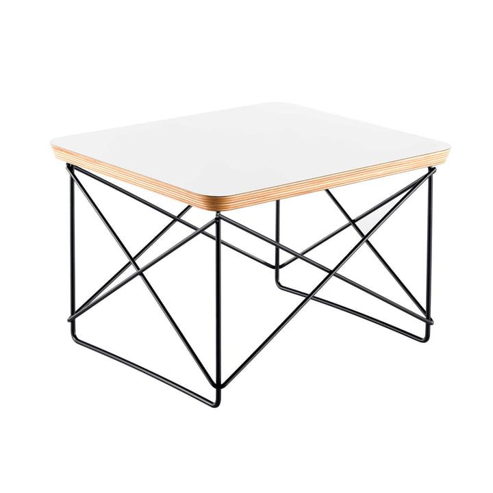 Vitra - Eames Occasional Table LTR, HPL white / basic dark