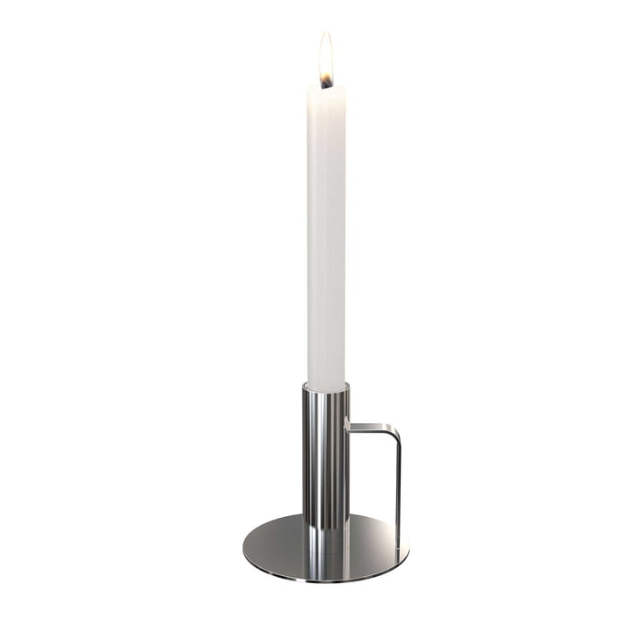 Frost - Candle Holder, 100 x 100, polished stainless steel