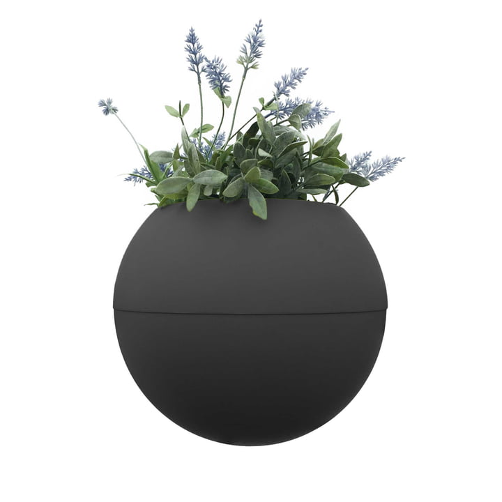 The rephorm - ballcony bloomball plant pot in graphite