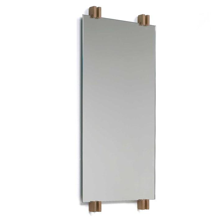 Cutter Mirror vertical from Skagerak in Teak