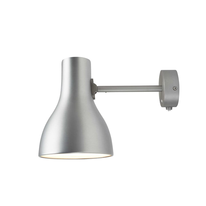 Type 75 Wall Lamp by Anglepoise in Brushed Aluminium