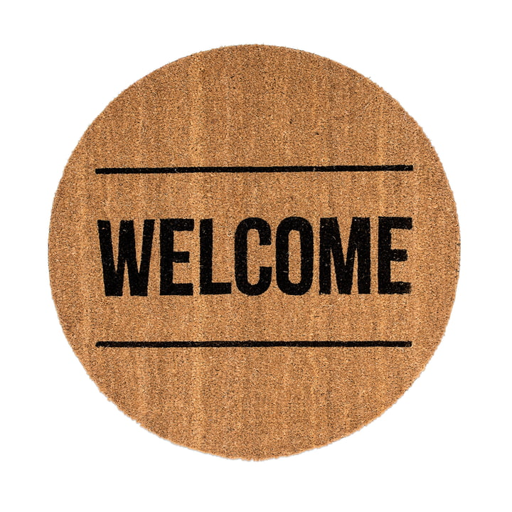 Doormat Welcome by Bloomingville
