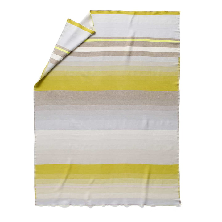 Colour Plaid Wool Blanket Colour No. 8 by Hay