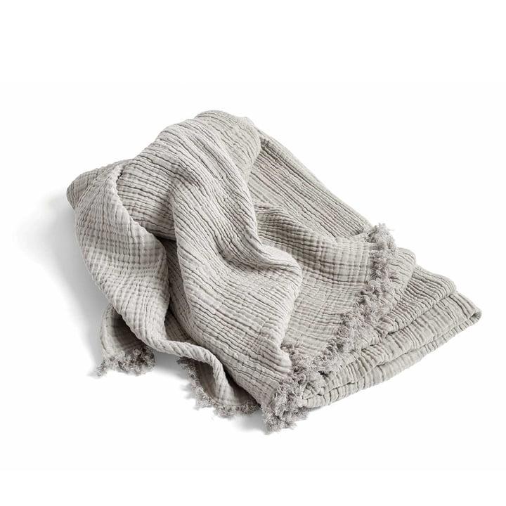 Crinkle Bedspread by Hay in Grey