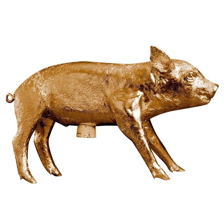 Areaware - Pig Bank, gold