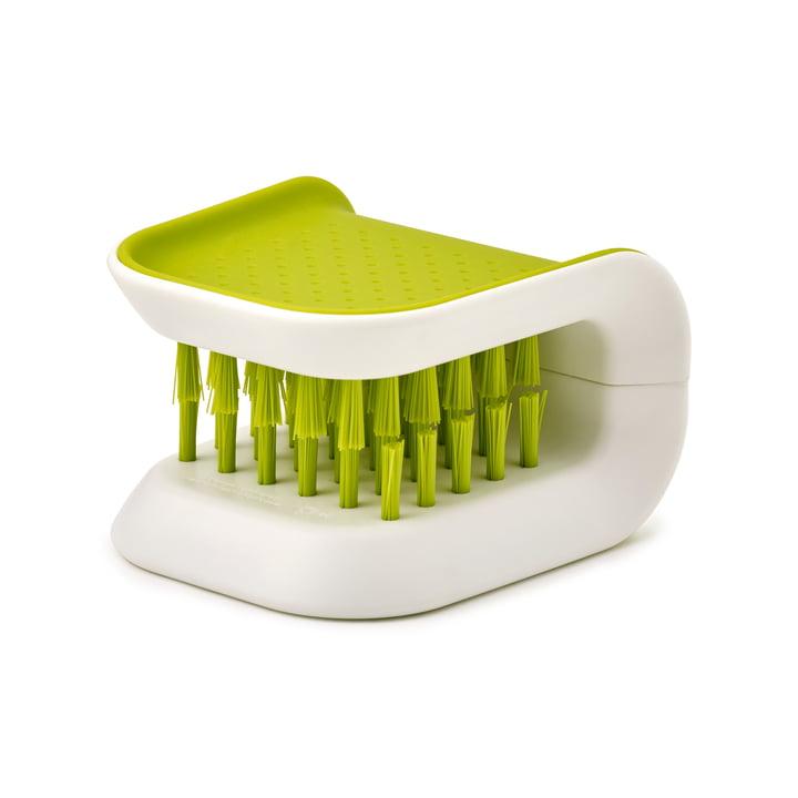 BladeBrush knife and cutlery cleaner by Joseph Joseph in White / Green