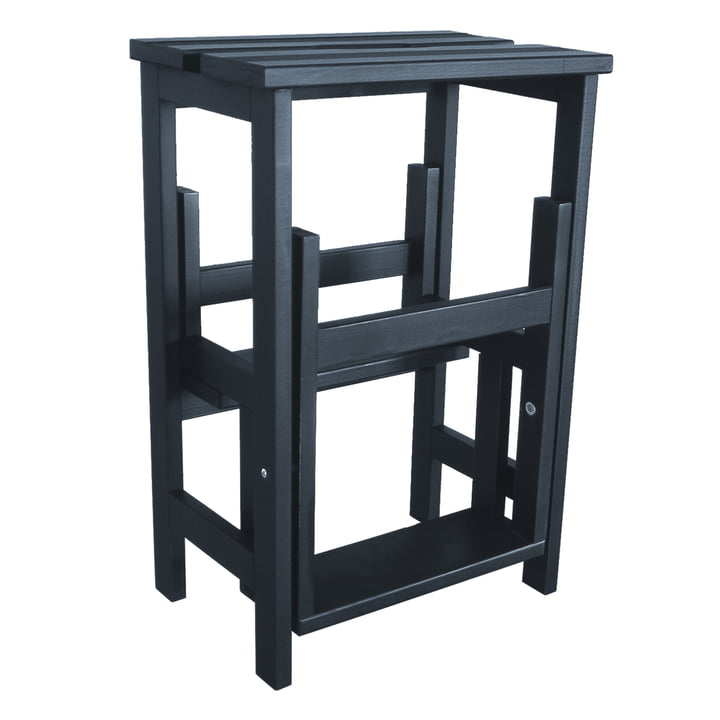 Step Stool from Radius Design made of beech wood in black