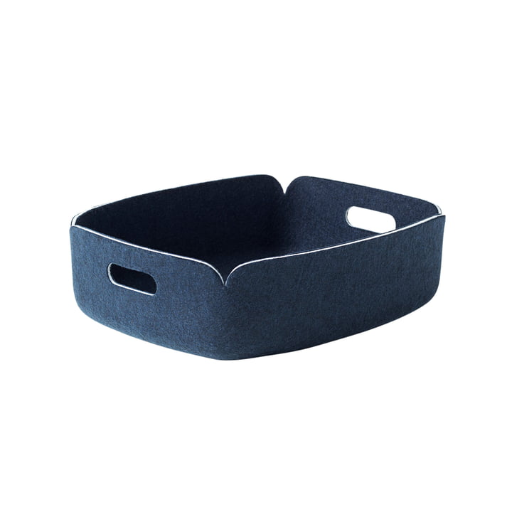 Muuto - Restore Tray, midnight blue