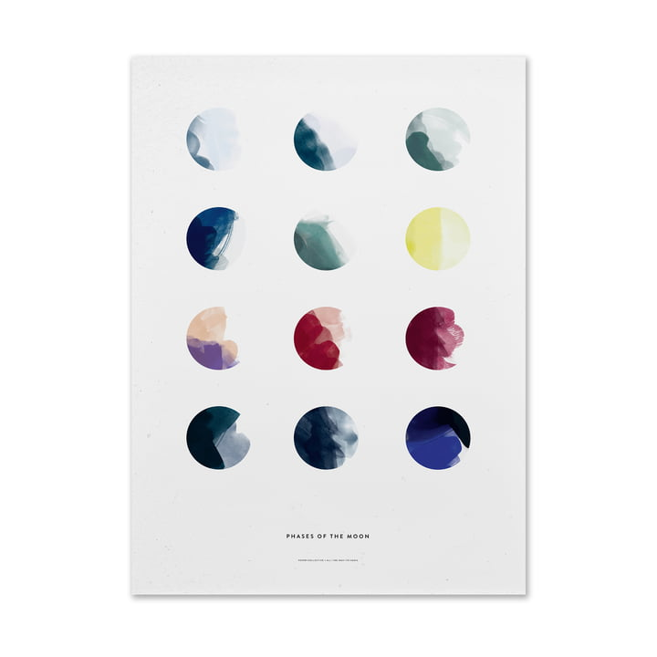 Moon Phases by Paper Collectives