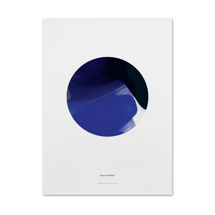 Blue Moon by Paper Collective