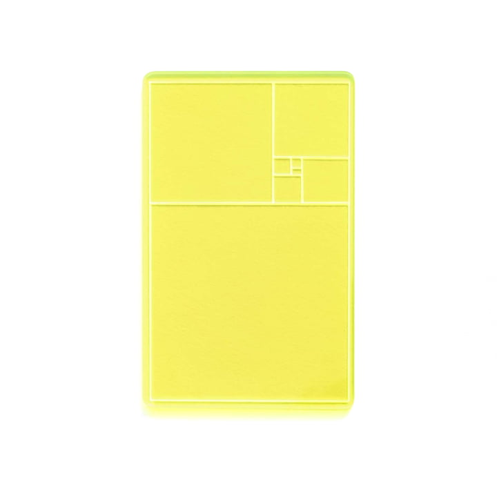 areaware - Golden Section Finder, yellow / green