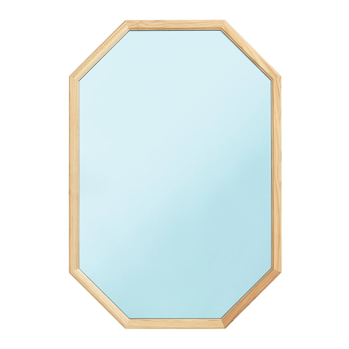 Normann Copenhagen - Lust Mirror 80 x 55 cm, blue