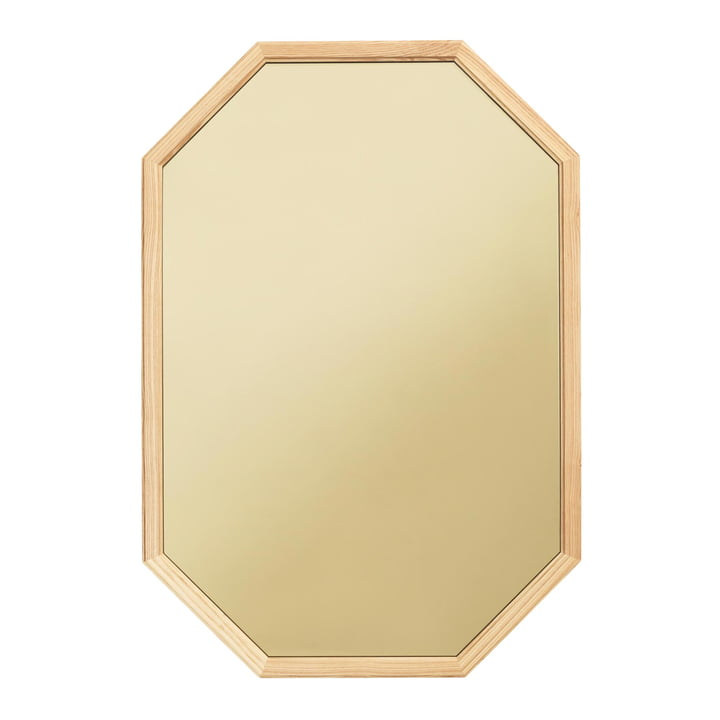 Normann Copenhagen - Lust Mirror 80 x 55 cm, green