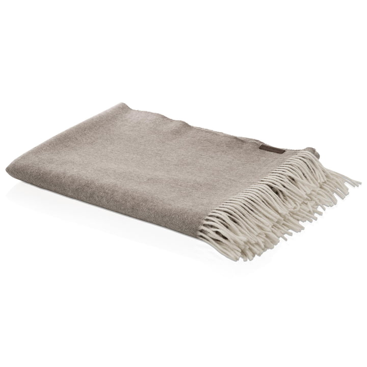 Cashmere Throw 120 x 190 cm by Fritz Hansen in Light Brown