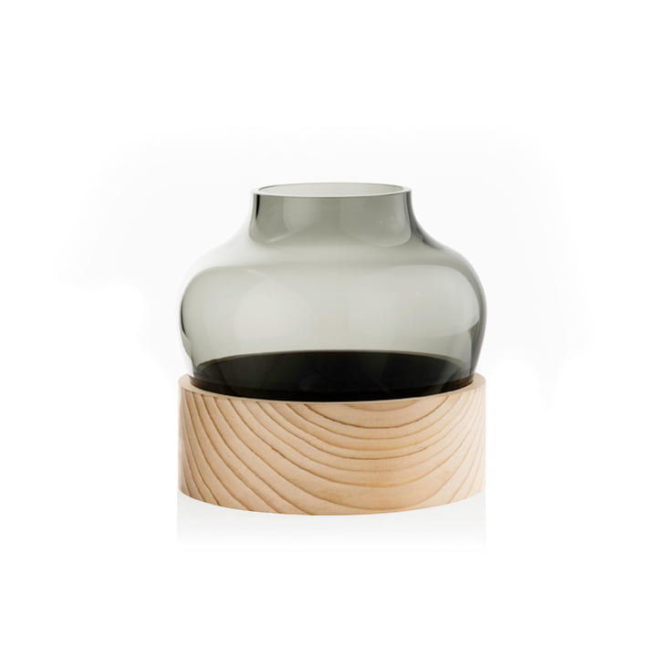Vase low h 185 mm by Fritz Hansen