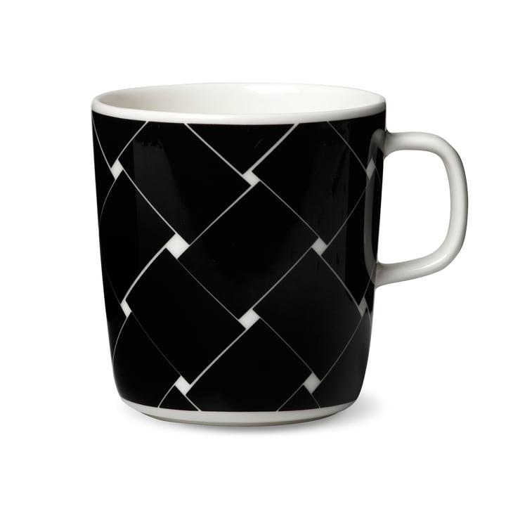 Oiva Basket Mug with Handle by Marimekko