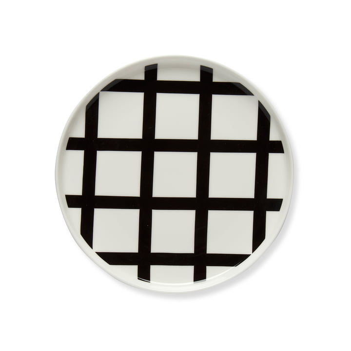 Oiva Spaljé Plate Ø 20 cm by Marimekko