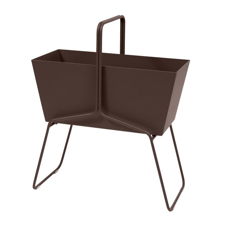Fermob - Basket Flower Box High in rust
