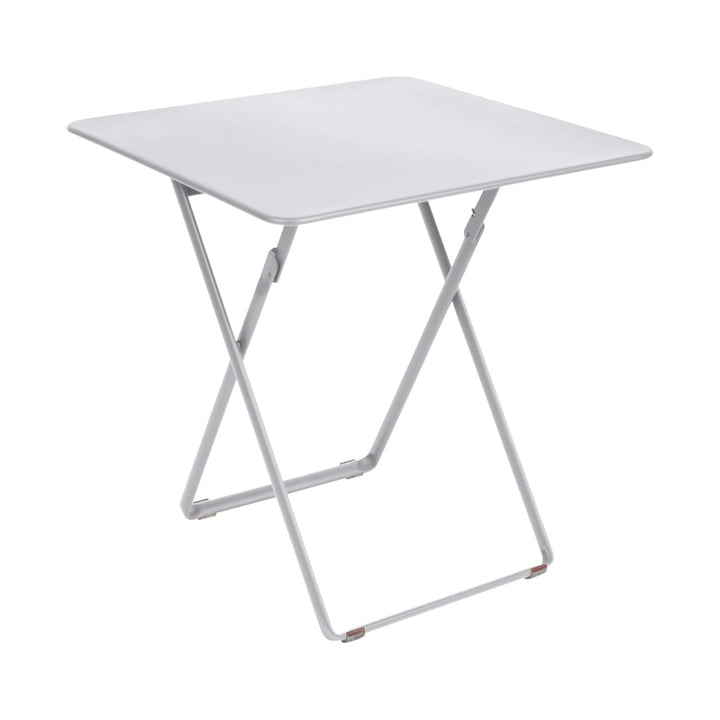 Plein Air Table 71 x 71 cm by Fermob in Cotton White