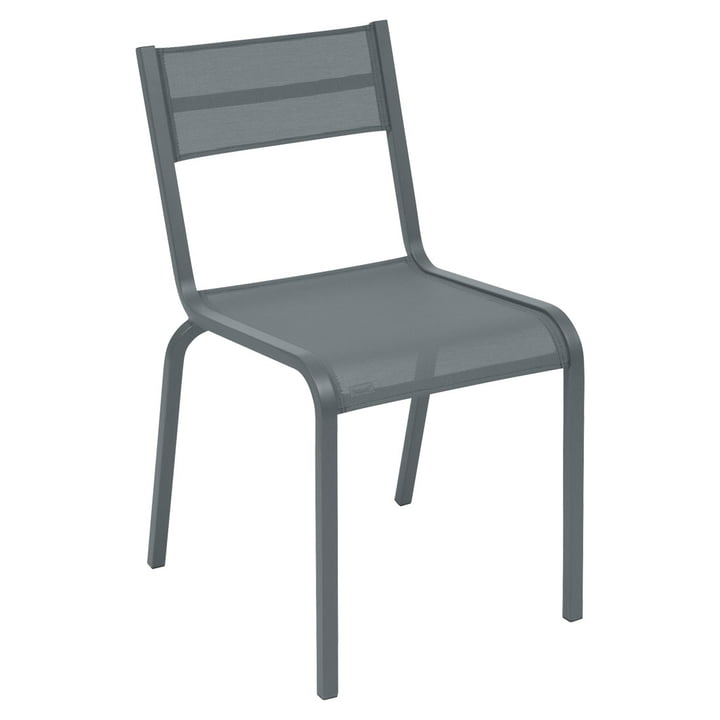 Oléron Chair by Fermob in Storm Grey