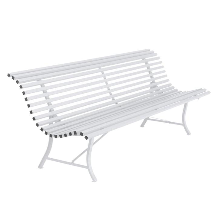 Louisiane Bench 200 cm by Fermob in cotton white